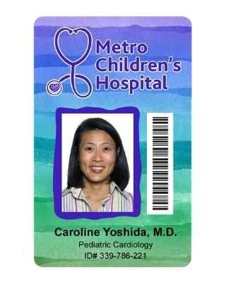 Medical ID Card Sample